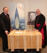 Archbishop Hans-Josef Becker and Dr. Andrea Ambrosi